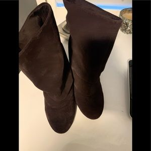 Naughty monkey bootie in brown suede